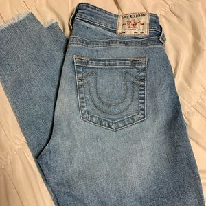 True Religion MidRise Skinny Jeans